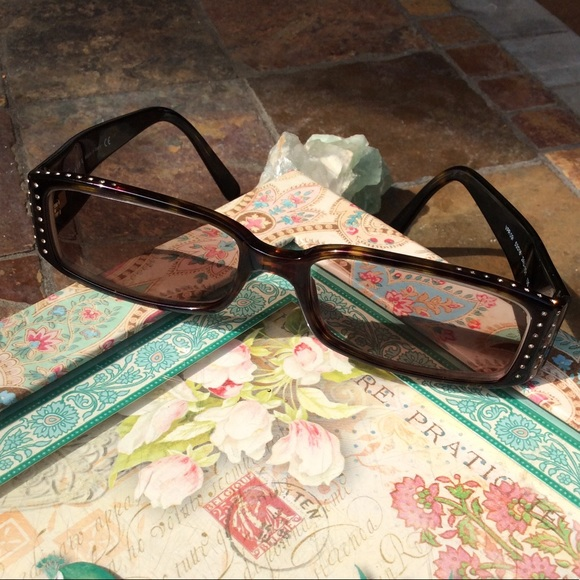 4beeabd87dcb Prada bedazzled transition reading glasses. 135.  M 5b87265b04ef509efc00c557. Other Accessories ...